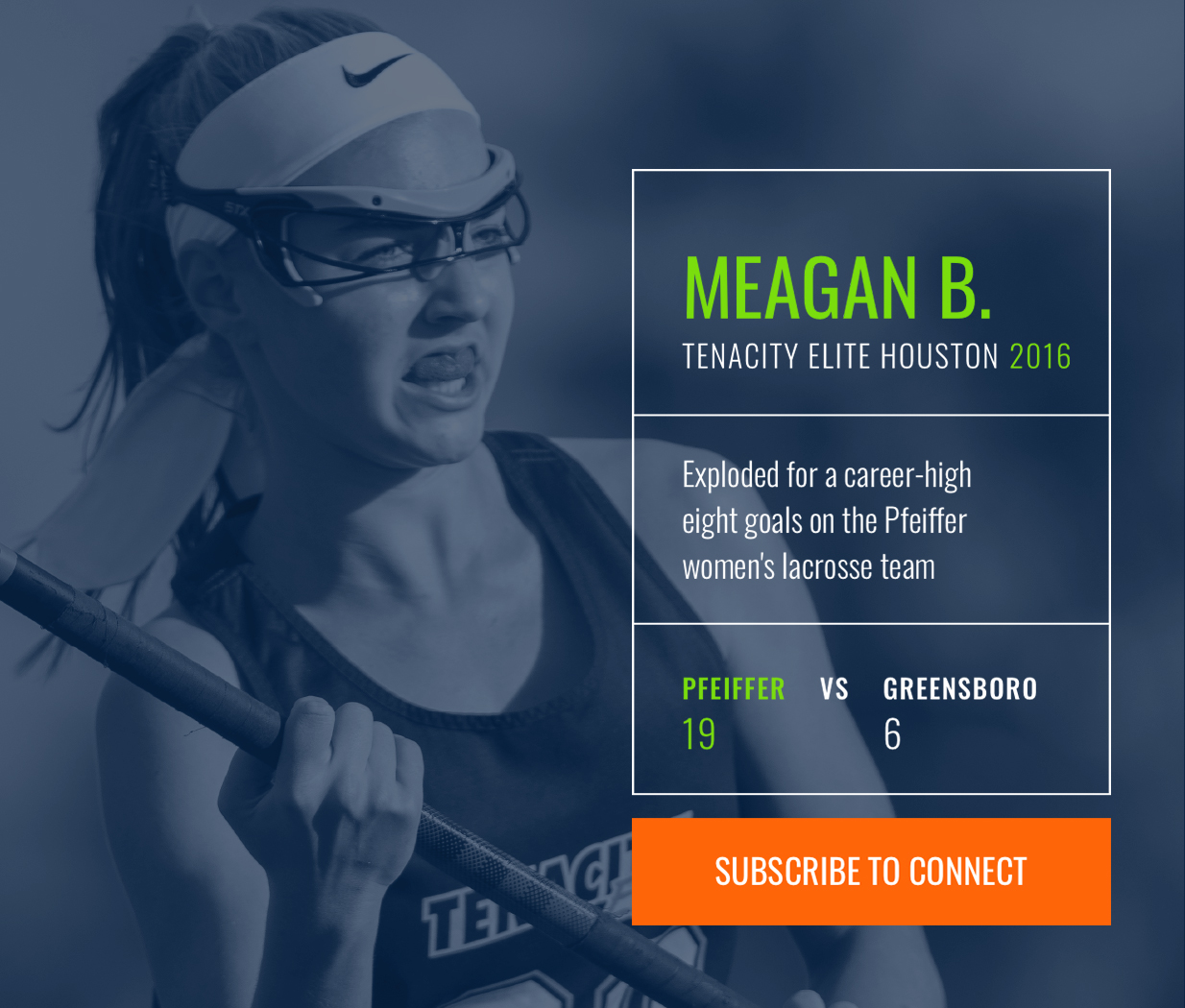 tenacity athlete profile