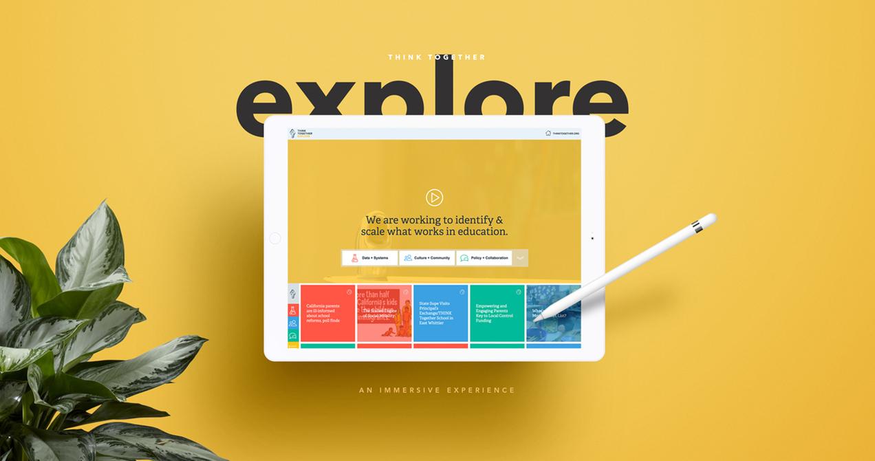 Think Together website